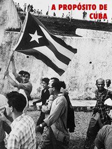 Folleto: A propósito de la revolución cubana (Luis González)