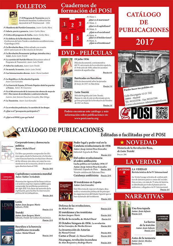 Catálogo de publicaciones del POSI